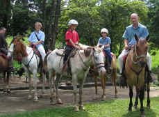 horseback riding Monteverde Costa Rica